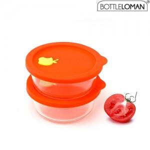 보틀로만 오븐락 밥&찜 원형 1호(400ml)
