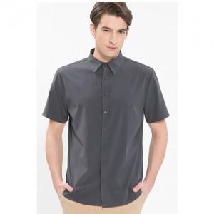 남성 반팔 단색 셔츠 /그레이(Y-110S)가격:23,000원