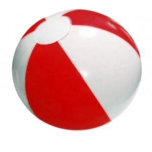 (대)2색 비치볼 빨강