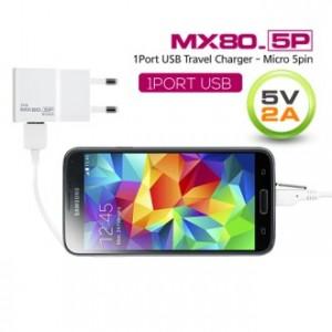 [가정용 충전기] MX80 USB 마이크로5핀 5V2A