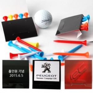 수첩형 골프 플라스틱티 5P세트