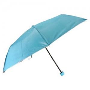 3단 실버 칼라손잡이 우산