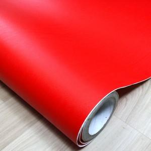 [인테리어필름]단색/빨강 8106 길이50M 롤단위가격:210,000원