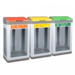 PRT-스틸 샌드 단순형 투명 분리수거함 100L가격:170,000원