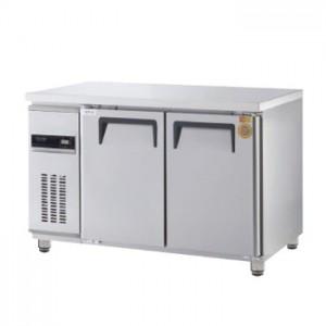 그랜드우성/고급형 간냉식 보냉테이블 4자 GWFM-120FT / 올냉동