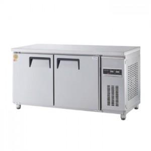 그랜드우성/고급형 간냉식 보냉테이블 5자 GWFM-150RFT / 냉동,냉장