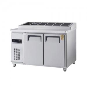 그랜드우성/고급형 간냉식 토핑테이블 4자 GWFM-120RTT / 올냉장