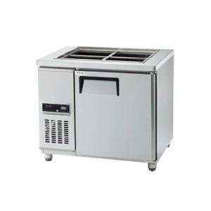 그랜드우성/고급형 간냉식 찬밧드테이블 3자 GWFM-090RBT / 올냉장