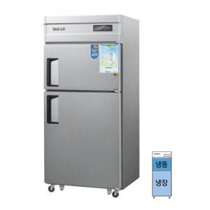 그랜드우성/일반형 직냉식 냉장고 30박스 CWSM-830RF 디지털/2도어