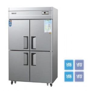그랜드우성/일반형 직냉식 냉장고 45박스 CWS-1242HRF 아날로그 / 수직냉동,냉장