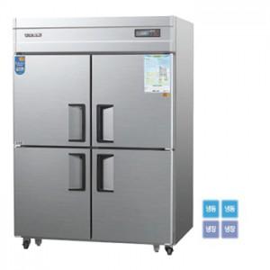 그랜드우성/일반형 직냉식 냉장고 45박스 CWSM-1242RF 디지털 / ½냉동,냉장