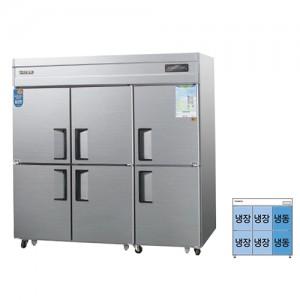 그랜드우성/일반형 직냉식 냉장고 65박스 CWSM-1964RF 디지털 / ⅓냉동,냉장