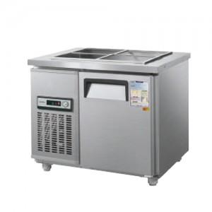 그랜드우성/일반형 찬밧드냉장고 3자 냉장 CWS-090RB / 아날로그