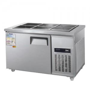그랜드우성/일반형 찬밧드냉장고 4자 냉장 CWSM-120RB / 디지털