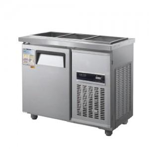 그랜드우성/일반형 찬밧드냉장고 3자 냉장 CWSM-090RB(D5) / 디지털