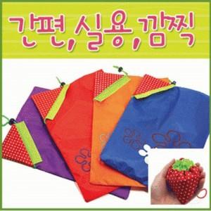 딸기장바구니/시장가방/장바구니/에코백