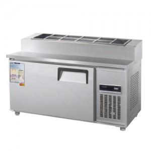 그랜드우성/일반형 토핑테이블 4자 냉장 CWS-120RBT(15) / 디지털