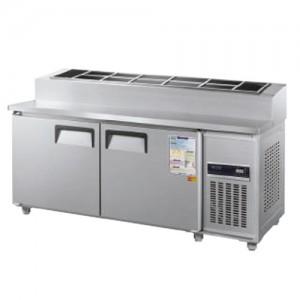 그랜드우성/일반형 토핑테이블 5자 냉장 CWSM-150RBT(15) / 디지털