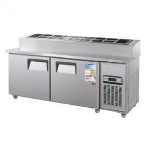 그랜드우성/일반형 토핑테이블 6자 냉장 CWS-180RBT(15) / 아날로그