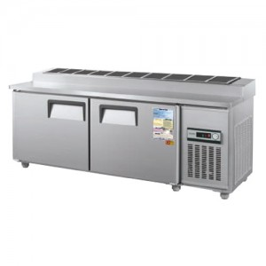 그랜드우성/일반형 김밥테이블 6자 냉장 CWS-180RBT(10) / 아날로그