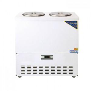 그랜드우성/육수냉장고 2말쌍통1라인/칼라(흰색)/아날로그 CWSR-202