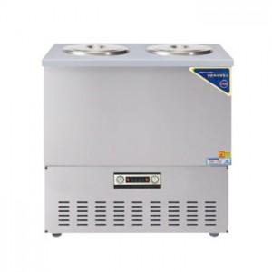 그랜드우성/육수냉장고 2말쌍통2라인/올스텐/아날로그 CWSR-212