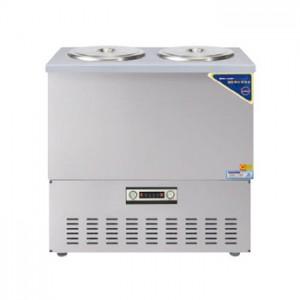 그랜드우성/육수냉장고 3말쌍통2라인/올스텐/아날로그 CWSR-313