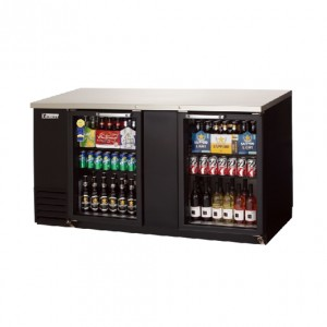 부성/BACK BAR COOLER(Glass Swing door) / B172BBG-2RROC-E / 간냉식