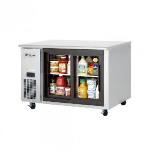 부성/ 냉장테이블(유리도어콜드 테이블) / B120CH-2RROS-E / 간냉식 / 올냉장