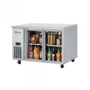 부성/ 냉장테이블(유리도어콜드 테이블) / B120CG-2RROS-E / 간냉식 / 올냉장