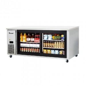 부성/ 냉장테이블(유리도어콜드 테이블) / B180CH-2RROS-E / 간냉식 / 올냉장