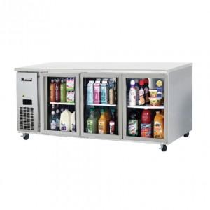 부성/ 냉장테이블(유리도어콜드 테이블) / B180CG-3RRRS-E / 간냉식 / 올냉장