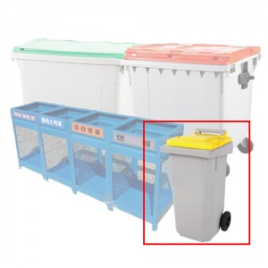 PCS-120G 음식물 분리수거함+재활용품,쓰레기,아파트,자동상차 세트구성