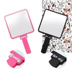 자개리본거울(소)핑크,흑색