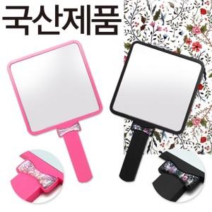 자개리본거울(중)핑크,흑색