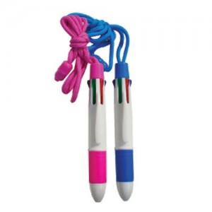 6색목걸이펜(볼펜)