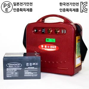 휴대용 발전기 160W (KWLM 160)가격:187,000원
