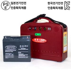 휴대용 발전기 240W (KWLM 240)가격:217,000원