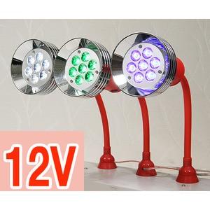 소켓형 LED 준파워 집어등 10w - 녹색/백색/청색 택1