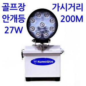 HI Box LED 27w 골프장 안개등