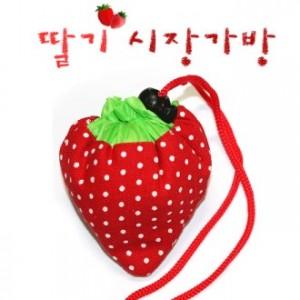 딸기장바구니/시장바구니/쇼핑백/시장가방