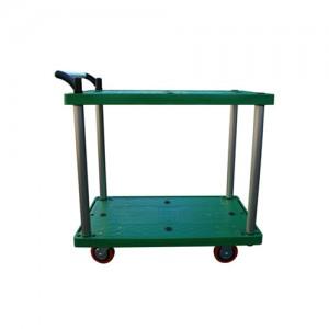 2단 카트 (Industrial Cart) 플라스틱 2단 대차 JW PDT-2 Series