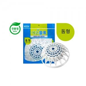 친환경 소변기탈취제 에코블루 돔형 (박스-30개)