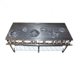 시그마 신석쇠 테이블렌지 스텐커버 1800(6구) / 가로1800 × 세로600 × 높이800