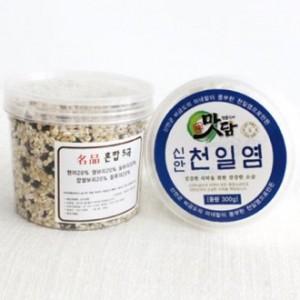 맛담천일염300g+혼합5곡250g(2p세트)