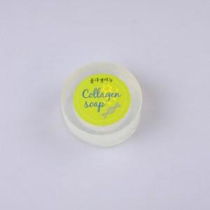 콜라겐 천연수제비누1p