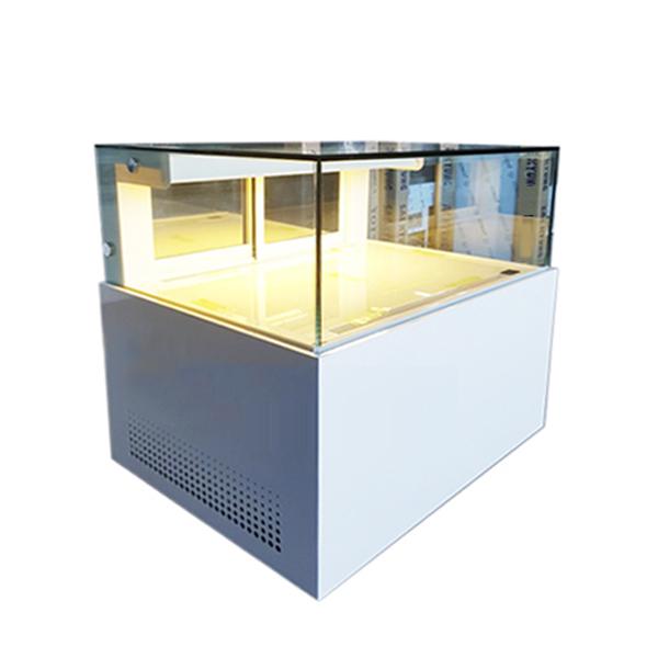 1단 제과쇼케이스 사각 뒷문형 마카롱 또는 일반제과[(900/1200/1500)×700×(900/1200)]
