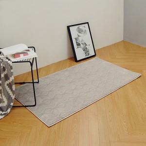 스노우 터키산 10mm 디자인카페트 MA2389-1281(80x150cm)그레이/침실러그/침대/사계절