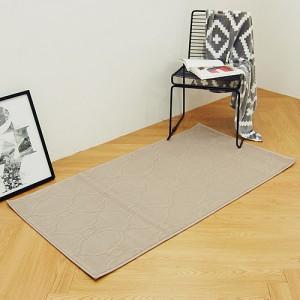 베일 터키산 10mm 디자인카페트 MA2378-1280(80x150cm)베이지/침실러그/침대/사계절