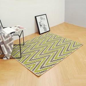 포레스트 터키산 7mm 디자인카페트 PA4233-1823(100x140cm)그린/거실러그/침실/침대/사계절